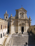 Cathedral  Victoria  Gozo  Malta  Mediterranean  Europe