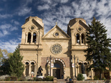 The Cathedral Basilica of St Francis of Assisi  Santa Fe  New Mexico  United States of America  No