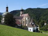 Abbey of St Trudpert  Munstertal  Black Forest  Baden-Wurttemberg  Germany  Europe