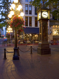 The Steam Clock  Water Street  Gastown  Vancouver  British Columbia  Canada  North America