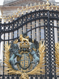 Main Gates  Buckingham Palace  London  England  United Kingdom  Europe