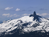 Black Tusk Mountain  Whistler  British Columbia  Canada  North America