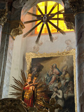 Our Miraculous Lady of Geras  Madonna Above Altar of Baroque Parish Church  Geras Premonstrian Abbe