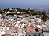White Village of Mijas Near Torremolinos  Andalusia  Spain  Europe