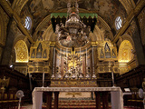 High Altar  St John's Cocathedral  Valletta  Malta  Europe