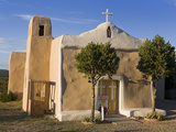 San Francisco De Asis Church Dating from 1835  Golden  New Mexico  United States of America  North