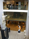 Ashmolean Museum Interior  Oxford University  Oxford  Oxfordshire  England  United Kingdom  Europe