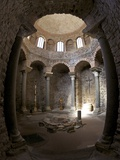 Paleochristian 5th Century Baptistery  Cathedral of St Leonce of Frejus  Var  Provence  Cote D'Azu