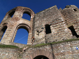 Roman Ruins of the Kaiserthermen  UNESCO World Heritage Site  Trier  Rhineland-Palatinate  Germany