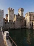 Castello Scaligero  Sirmione  Lago Di Garda (Lake Garda)  Lombardy  Italy  Europe