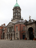 Bedford Tower on One Side of the Main Courtyard of Dublin Castle  Dublin  Republic of Ireland  Euro