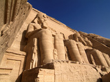 Temple of Abu Simbel  UNESCO World Heritage Site  Lake Nasser  Egypt  North Africa  Africa
