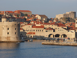 Harbour  Old Town  UNESCO World Heritage Site  Dubrovnik  Croatia  Europe