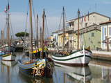 Cesenatico  Harbour  Adriatic Coast  Emilia-Romagna  Italy  Europe