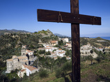 View over Village Used as Set for Filming the Godfather  Savoca  Sicily  Italy  Europe