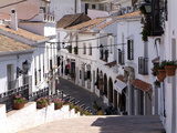 White Village of Mijas Near Torremolinos  Andalusia  Spain  Europe