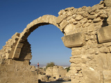 Ruins at Paphos  UNESCO World Heritage Site  Cyprus  Europe