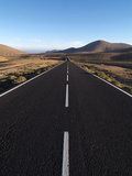 Road Near La Pared  Fuerteventura  Canary Islands  Spain  Europe