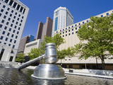 Gavel Sculpture Outside the Ohio Judicial Center  Columbus  Ohio  United States of America  North A