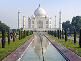 Taj Mahal  UNESCO World Heritage Site  Agra  Uttar Pradesh State  India  Asia