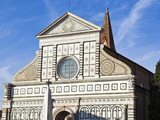 Church of Santa Maria Novella  UNESCO World Heritage Site  Florence  Tuscany  Italy  Europe
