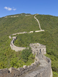 The Great Wall of China  UNESCO World Heritage Site  Mutianyu  Beijing District  China  Asia