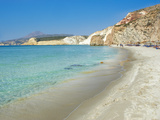 Firiplaka Beach  Milos  Cyclades Islands  Greek Islands  Aegean Sea  Greece  Europe