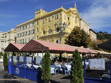 Place Charles Felix  Cours Saleya Market and Restaurant Area  Old Town  Nice  Alpes Maritimes  Prov