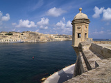 Fort St Michael  Senglea  Grand Harbour  Valletta  Malta  Mediterranean  Europe
