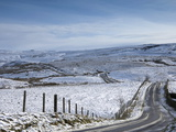 The Fell Road to Hartside Summit  Eden Valley  Pennines  Cumbria  England  United Kingdom  Europe
