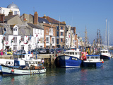 Old Town and Harbour  Weymouth  Dorset  England  United Kingdom  Europe