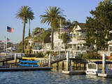 Bay Island in Balboa  Newport Beach  Orange County  California  United States of America  North Ame