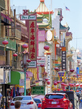 Street Scene in China Town Section of San Francisco  California  United States of America  North Am