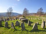 Ancient Gorsedd Stones  Pontypridd  Rhondda  South Wales  Wales  United Kingdom  Europe