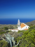 Church Overlooking the Aegean Sea  Chania  Crete  Greek Islands  Greece  Europe