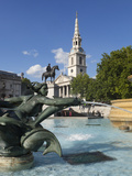 St Martin's in the Fields Church  Trafalgar Square  London  England  United Kingdom  Europe