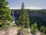 Helmcken Falls  Wells Grey Provincial Park  British Columbia  Canada  North America