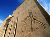 Horus Temple  Edfu  Egypt  North Africa  Africa