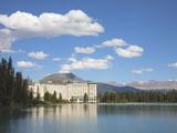 The Fairmont Chateau Lake Louise Hotel  Lake Louise  Banff National Park  UNESCO World Heritage Sit