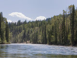 Clearwater River in Wells Grey Provincial Park  British Columbia  Canada  North America