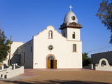 Ysleta Mission on the Tigua Indian Reservation  El Paso  Texas  United States of America  North Ame