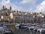 Senglea Harbour  Malta  Mediterranean  Europe