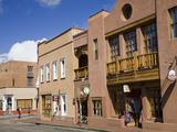 Water Street  Santa Fe  New Mexico  United States of America  North America