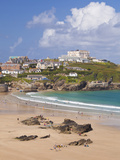 Newquay Beach in Summer  Cornwall  England  United Kingdom  Europe