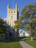 Cathedral  Exeter  Devon  England  United Kingdom  Europe
