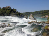 Rhine Falls  Schaffhausen  Switzerland  Europe