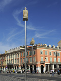 Modern Sculptures in Place Massena  Nice  Alpes Maritimes  Provence  Cote D'Azur  French Riviera  F