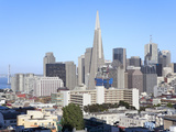 City Skyline  San Francisco  California  United States of America  North America