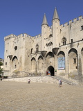 Palais Des Papes (Papal Palace)  UNESCO World Heritage Site  Avignon  Provence  France  Europe