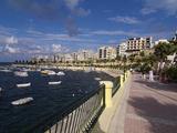 Mellieha Bay  Malta  Mediterranean  Europe